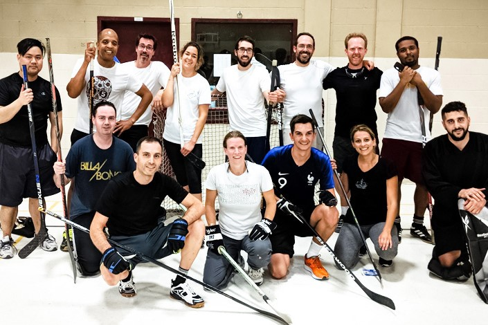 GIRO Floor hockey team